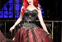 Girls Plus Size Gothic Rockabilly Steampunk Horror / Plus Size Alternative clothing for girls