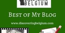 Best of my Blog / My Discovering Belgium blog gives you ideas to spend a day or more in the fascinating country of Belgium. For more info, visit https://discoveringbelgium.com/