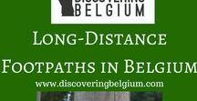 Long-distance footpaths / Come with me on some superb long-distance (GR = Grand Routiers) footpaths in Belgium https://discoveringbelgium.com/