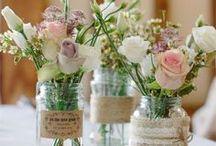 Blumen für die Hochzeit / Blumenschmuck für die Hochzeitsfeier