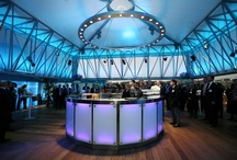 The Deck at The National Theatre / The Deck is a stunning roof-top event venue at the National Theatre with breathtaking views of the London's iconic skyline and outdoor