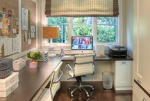Home Office + Craft Corner