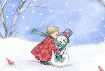 ༺ ♥ Snowmen ♥ ༻
