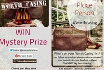 #worthcasing / What's on your #worthcasing list? Product, person or place? We would love to see photo evidence!    Just remember to tag #worthcasing and you will be in the draw to win a fab mystery prize.    Closes 31st May see Ms Mystery Case blog for Terms and Conditions.