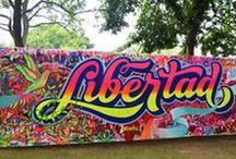 Streetart / Arte en la calle, graffitis y mucho más.