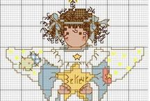 ༺ ♥ Cross Stitch Christmas ♥ ༻
