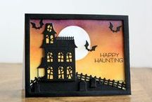 Halloween & Thanksgiving / Halloween & Thanksgiving cards, crafts and more. / by Top Dog Dies