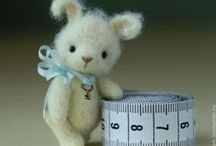 ༺ ♥ Needle Felting ♥ ༻ / OMG!! I so love these little cuties and I can't wait to try this Needle Felting myself. ;-)