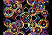 Rainbow quilts ROYGBIV