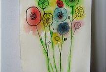 Flowers,  Trees, Butterflies ...
