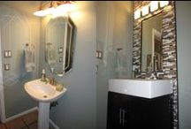 Powder Rooms / Some of our favorite powder room remodel ideas and completed projects.