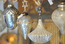 ༺ ♥ Christmas Vintage Ornaments ♥ ༻