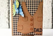 Father's Day Cards / Father's Day card ideas, Father's Day card inspiration, tutorials and more.
