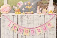 Lemonade stand ideas