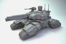 Sci-fi Tanks