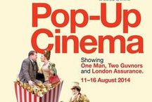 Pop-up Cinema / For one week only, the National Theatre's rooftop venue The Deck is transforming into a 50-seat pop-up cinema.  Showcasing two of the National Theatre's most celebrated shows, One Man, Two Guvnors (evenings) and London Assurance (matinees), book your ticket now to enjoy a unique movie experience in the Capital.  Monday 11 – Saturday 16 August 2014