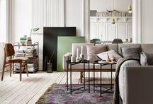 COUCH ♥ Living Rooms / Sofa, Sessel, Bücher, Lampen: Das Wohnzimmer ist neben der Küche das Herz der Wohnung