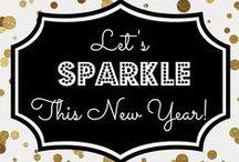 COUCH ♥ New Year's Eve / Glitzerndes Silvester: Tolle Ideen in Gold und Silber für einen glamourösen Jahreswechsel