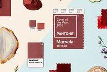 COUCH ♥ Marsala / Möbel, Deko und Mode in der Pantonefarbe des Jahres 2015 / Pantone Color Of The Year