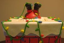 ༺ ♥ Christmas Cakes ♥ ༻