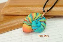 Arcilla polimérica Rosa Mira / Polymer clay