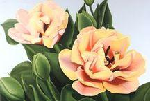 Mijn schilderijen / Bloemen www.meervanria.nl