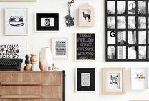 COUCH ♥ Gallery Walls / Fotos inszenieren und Bilder hängen: Hier sind unsere liebsten Wandgalerien