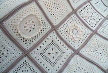 ༺ ♥ Crochet Granny Square ♥ ༻