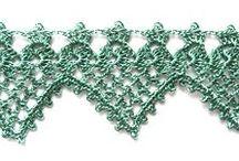 ༺ ♥ Crochet Edges ♥ ༻
