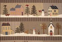 ༺ ♥ Quilting Christmas/Winter ♥ ༻
