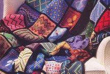 ༺ ♥ Crochet Tunisian ♥ ༻