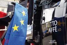 Tutto Caffè - Piaggio osedlané kávou / Tutto Caffe - Piaggio osedlané kávou; Mobilní kavárna; Piaggio Ape 50, coffee