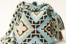 ༺ ♥ Crochet Mochilas Wayuu Bags ♥ ༻