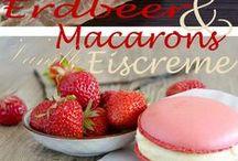 Macaron Ice Cream Sandwiches / Anleitung, DIY für Riesen-Macarons mit Eiscreme Füllung.