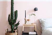 Pflanzenliebe / Pflanzen gehören zu einem schönen Zuhause einfach dazu. Hier findest du tolle DIY Ideen und Dekoideen zum Thema Blumen und Pflanzen.