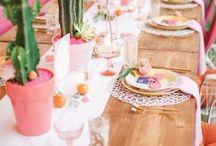 Ideen für eine schöne Tischdeko / Schöne Ideen und Inspiration für die Tischdeko.