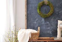 D.I.Y. Chalkboard