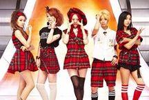 F(X) ♥ /  Victoria, Amber, Luna, Sulli, and Krystal