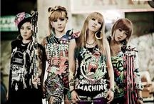 2NE1 ♥ /  CL, Minzy, Dara, and Bom