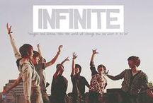 INFINITE ♥ /  Sunggyu, Dongwoo, Woohyun, Hoya, Sungyeol, L, and Sungjong