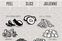 Kitchen Infographics / helpful infographics for chefs and foodies
