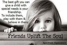 All Things Special Needs / Resources, motivational quotes, activities, book recommendations, etc.