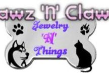 Dog and cat related jewelry at Pawz N Clawz Jewelry N Things / This is my own brand new business! We make beautiful AFFORDABLE jewelry with your pet in mind! Come by our blog and check out the jewelry page! http://ownedbyahusky.blogspot.ca/p/pawz-n-clawz-handmade-jewelry.html