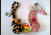 Handmade dog rope toys from DBDT / Our shop (Pawz N Clawz Jewelry N Things) is now partnered up with Damiens Best Dog Toys (DBDT) to bring you durable handmade dog rope toys!