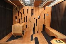 Wood Grain / In April of 2015, editor Travis Stanton named EXHIBITOR magazine's finish of the year: Wood Grain. Check out a sampling of the earthy texture used on trade show floors from the United States to South Africa.