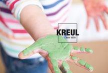 Ideen für Kinder / Es wird gestempelt, gedruckt, gekleckst und gemalt. Wie wär es mit einem tollen Window Color Motiv am Fenster oder einer selbstgebastelten Schultüte? Kinder lieben Farbe! - DIY Projekte für Kinder