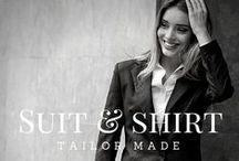 Ladies, Suit Up! / Take a look at different suits! Customize your own at sumissura.com  #Suitup #customsuits #tailoredsuits #ladies