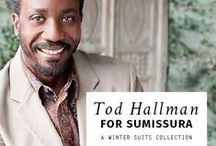 TOD HALLMAN For Sumissura Collection / Fashion consultant and show producer Tod Hallman has styled such diverse talents as Catherine Zeta-Jones, Samuel L. Jackson, Jennifer Hudson, Britney Spears, Alanis Morrisette, Toni Braxton and Kelly Rowland, just to name a few. We're happy to present Tod's new winter suits exclusively for our customers.  Check it out here http://www.sumissura.com/en/collections/pant-suits/tod-hallman-for-sumissura #fashiondesigner #style #custommade #tailoredsuits