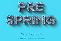 PRE-SPRING NEW ARRIVALS / Get a sneak peak to our new Spring 2016 arrivals!  See them all here:  http://www.sumissura.com/en/collections/custom-dress-shirts/pre-spring-new-arrivals  #spring #Sumissura #tailored