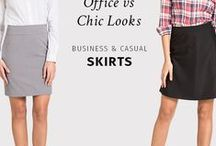 Business Skirts | / TAILORED, CLASSY SKIRTS - PERFECT FOR THE OFFICE. Take a look at our Business Skirts Collection | http://www.sumissura.com/en/collections/custom-skirt/business-skirts  For more information, visit Sumissura.com